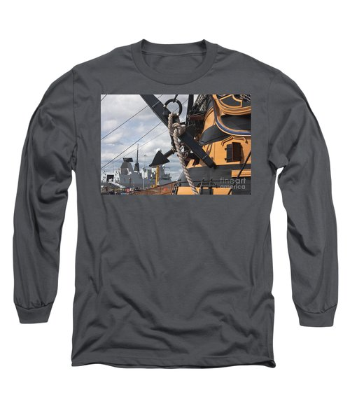 Hms Diamond And Hms Victory Long Sleeve T-Shirt
