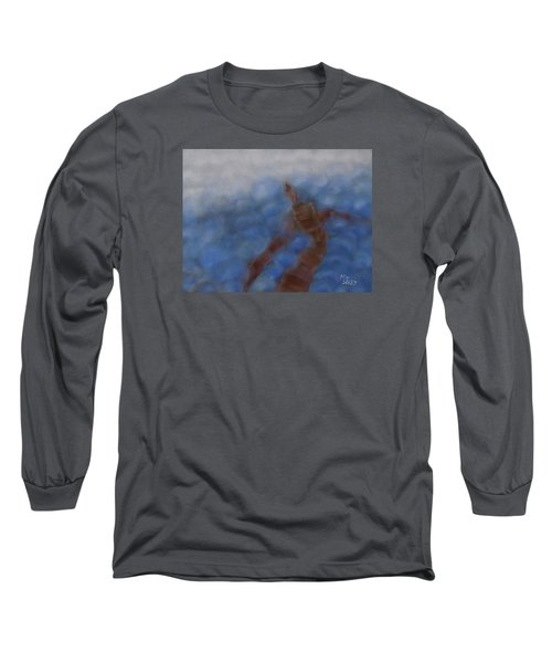 Hold The World Long Sleeve T-Shirt by Min Zou