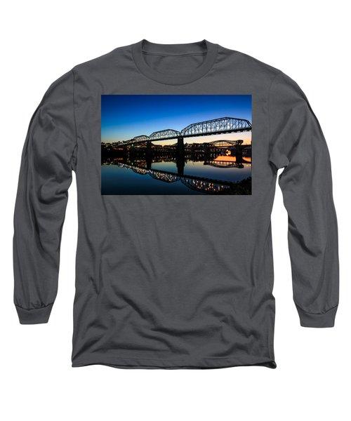 Holiday Lights Chattanooga Long Sleeve T-Shirt