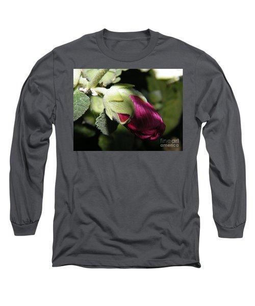 Hollyhock Shadows Long Sleeve T-Shirt