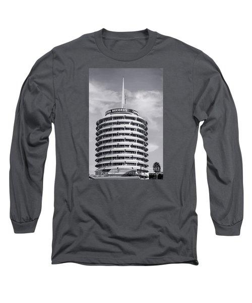 Hollywood Landmarks - Capitol Records Long Sleeve T-Shirt