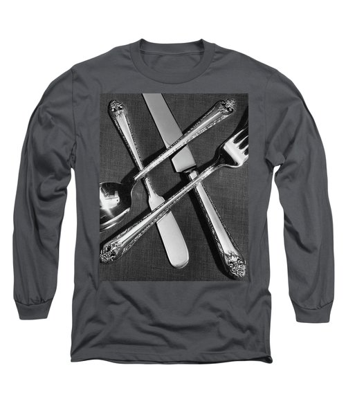 Holmes And Edwards Collection Silverware Long Sleeve T-Shirt