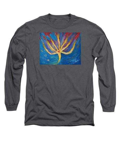 Holy Spirit Which Dwells In You Long Sleeve T-Shirt by Cassie Sears