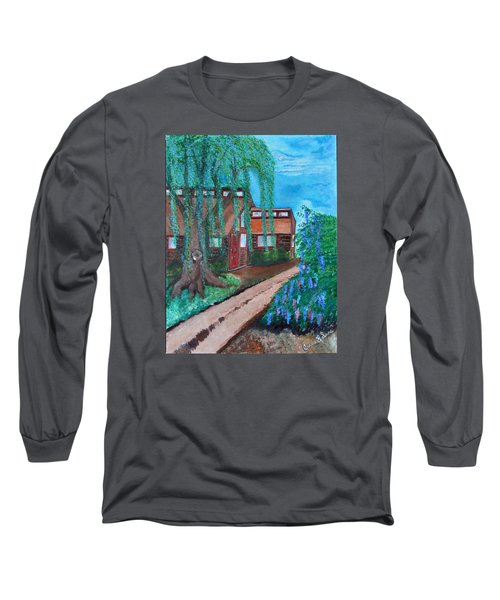 Home Long Sleeve T-Shirt by Cassie Sears