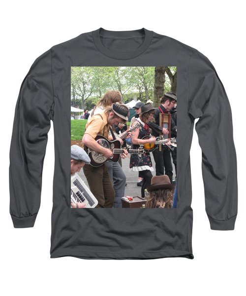 Homestyle Band Long Sleeve T-Shirt by David Trotter