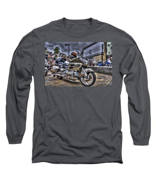 Honda Goldwing 2 Long Sleeve T-Shirt by Steve Purnell