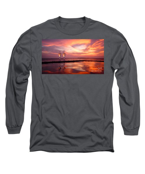 Honeymoon - A Heart In The Sky Long Sleeve T-Shirt