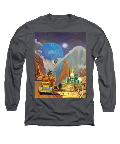 Honeymoon In Oz Long Sleeve T-Shirt