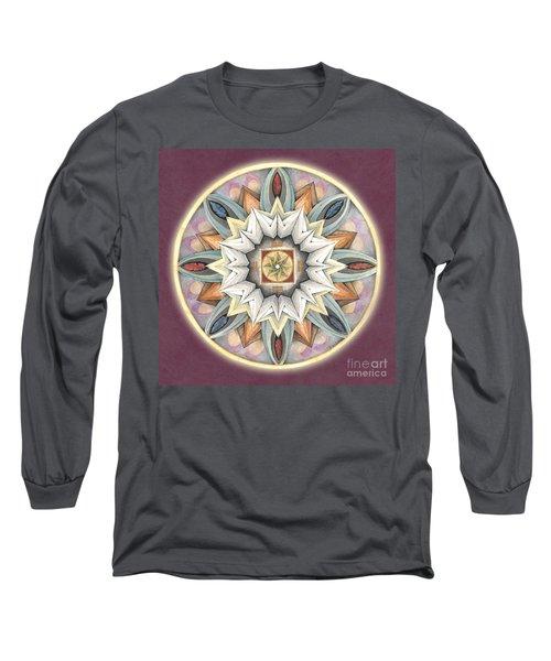 Honor Mandala Long Sleeve T-Shirt
