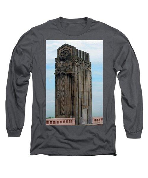 Hope Memorial Bridge Guardian Long Sleeve T-Shirt