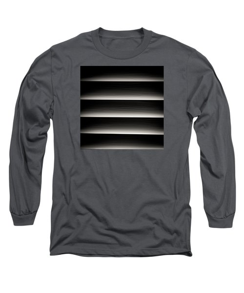 Long Sleeve T-Shirt featuring the photograph Horizontal Blinds by Darryl Dalton