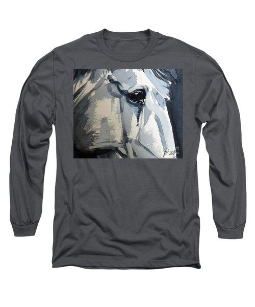 Horse Look Closer Long Sleeve T-Shirt