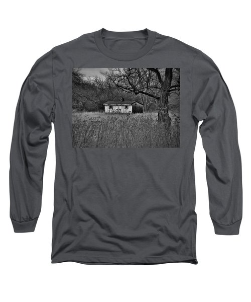 Horse Shed Long Sleeve T-Shirt by Robert Geary