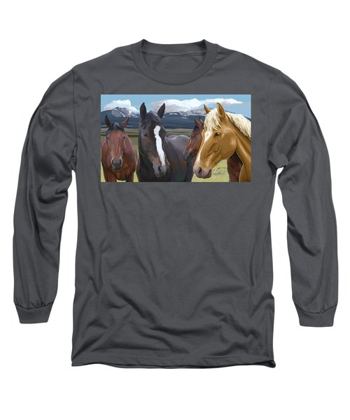 Horse Talk Long Sleeve T-Shirt