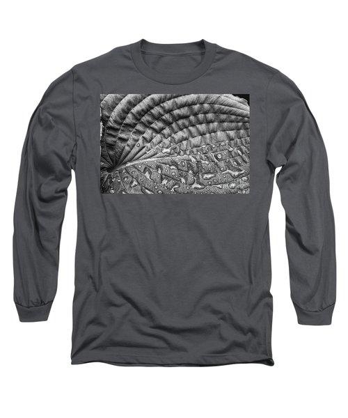 Hosta Leaf Long Sleeve T-Shirt
