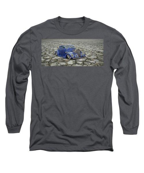 Hot Rod Mirage Long Sleeve T-Shirt by Steve McKinzie