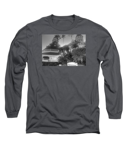 Hotel Del At Sunset Long Sleeve T-Shirt