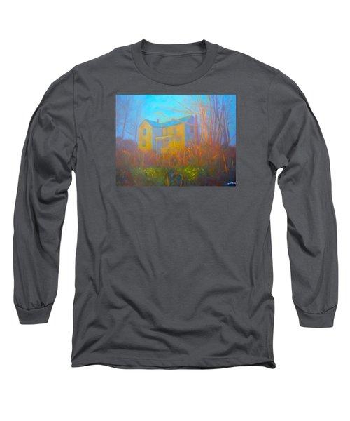 House In Blacksburg Long Sleeve T-Shirt by Kendall Kessler