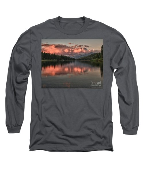 Hume Lake Sunset Long Sleeve T-Shirt