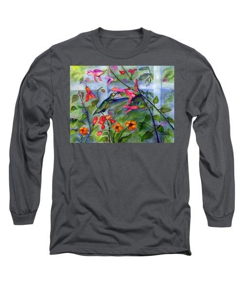 Hummingbird Dance Long Sleeve T-Shirt