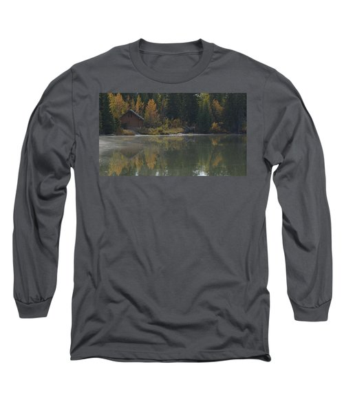 Hut By The Lake Long Sleeve T-Shirt