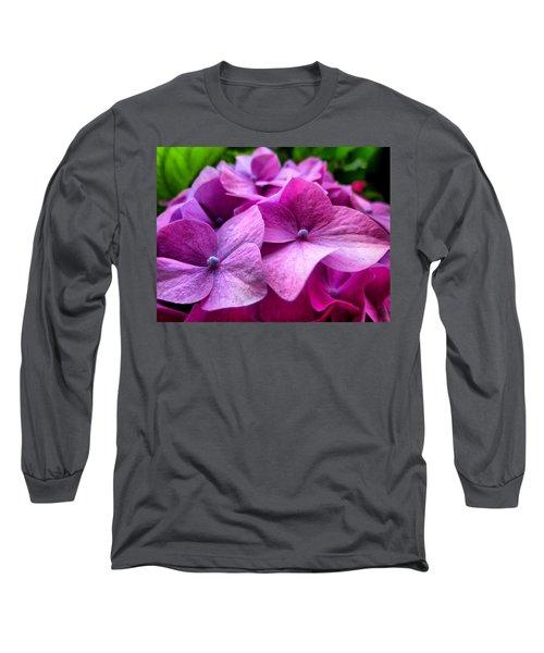 Hydrangea Bliss Long Sleeve T-Shirt