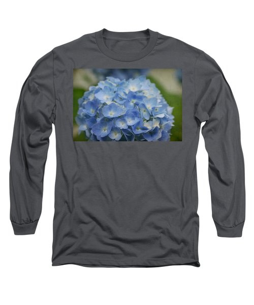 Hydrangea Solitude Long Sleeve T-Shirt