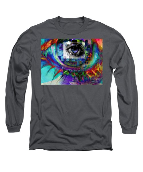I Abstract Long Sleeve T-Shirt