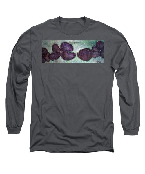 I Can See Home In Your Eyes Poppies Long Sleeve T-Shirt