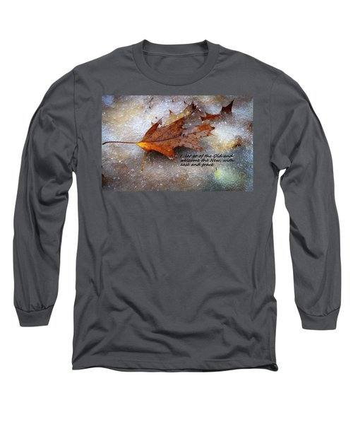 Long Sleeve T-Shirt featuring the photograph I Let Go by Patrice Zinck