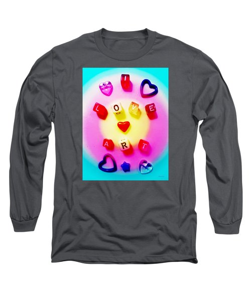 I Love Art Long Sleeve T-Shirt