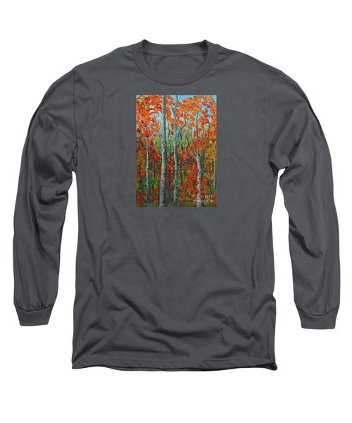 I Love Fall Long Sleeve T-Shirt