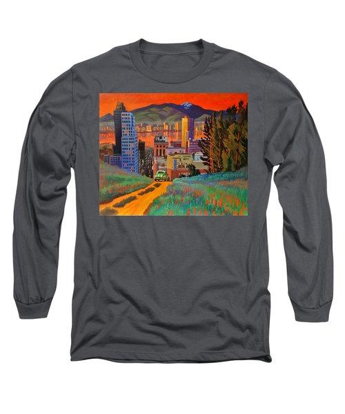I Love New York City Jazz Long Sleeve T-Shirt