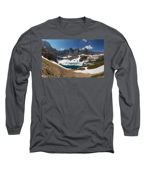 Long Sleeve T-Shirt featuring the photograph Iceberg Lake by Aaron Aldrich