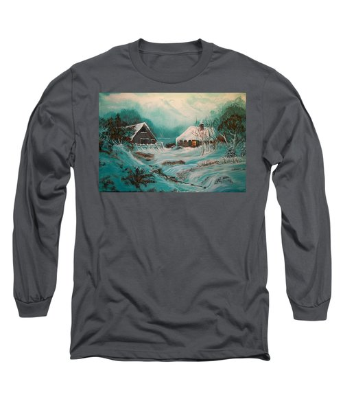 Icy Twilight Long Sleeve T-Shirt
