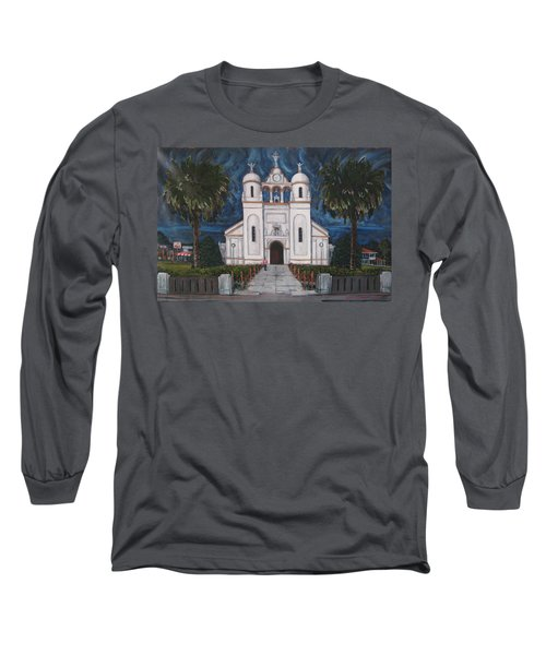 Iglesia Curridabat  Costa Rica Long Sleeve T-Shirt