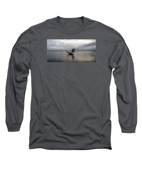 Ikebana Sunset Long Sleeve T-Shirt by Amar Sheow