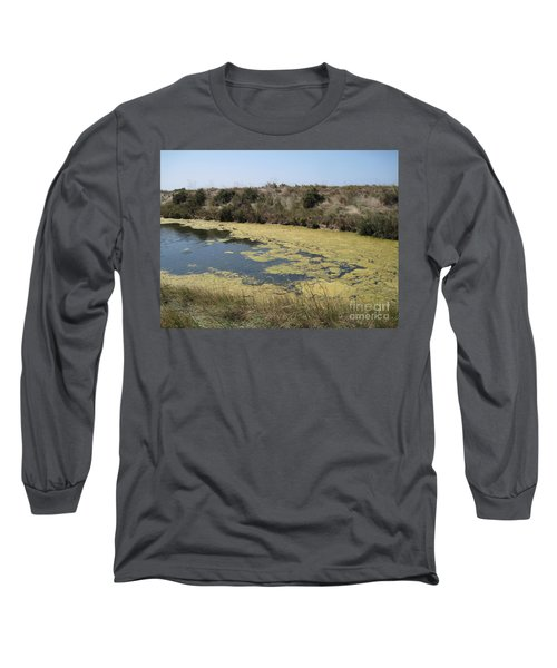 Long Sleeve T-Shirt featuring the photograph Ile De Re - Marshes by HEVi FineArt