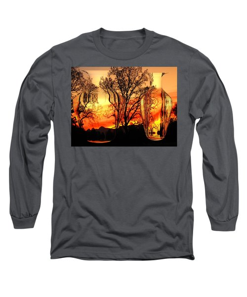 Long Sleeve T-Shirt featuring the photograph Illusion by Joyce Dickens