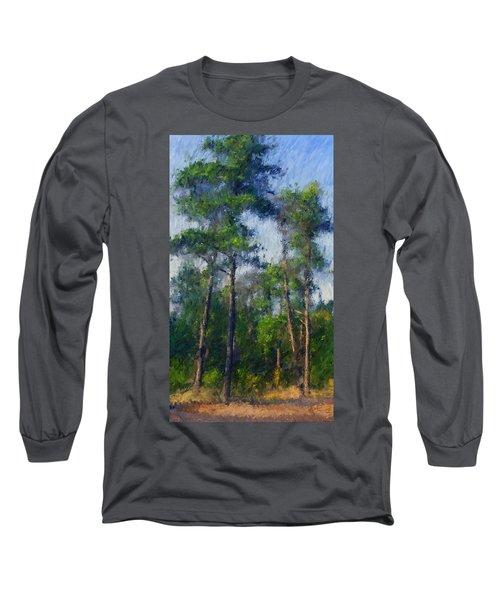 Impression Trees Long Sleeve T-Shirt