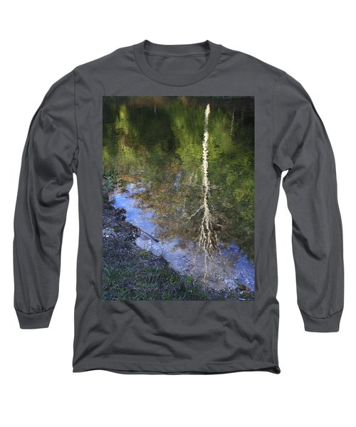 Long Sleeve T-Shirt featuring the photograph Impressionist Reflections by Patrice Zinck