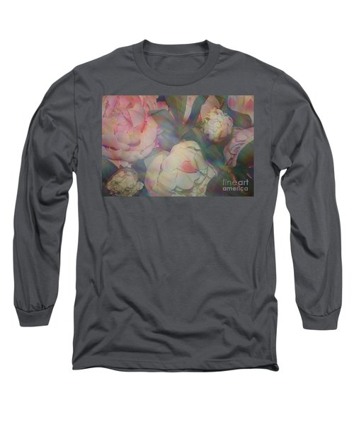Long Sleeve T-Shirt featuring the photograph Impressionistic Spring Bouquet by Dora Sofia Caputo Photographic Art and Design
