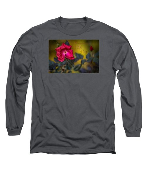 In Love With Message Long Sleeve T-Shirt
