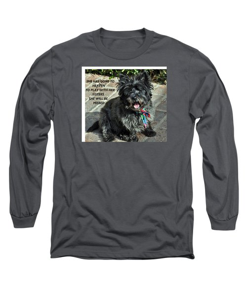 In Memory Of Her Long Sleeve T-Shirt by Jay Milo