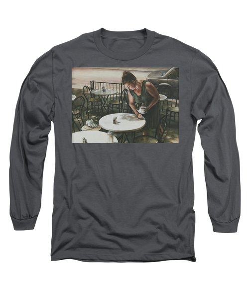 In The Absence Of A Dream Long Sleeve T-Shirt by Yvonne Wright