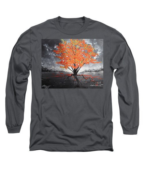Blaze In The Twilight Long Sleeve T-Shirt