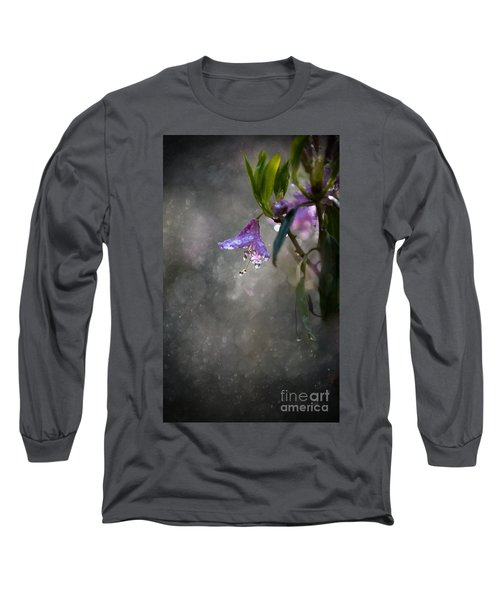 Long Sleeve T-Shirt featuring the photograph In The Morning Rain by Jaroslaw Blaminsky
