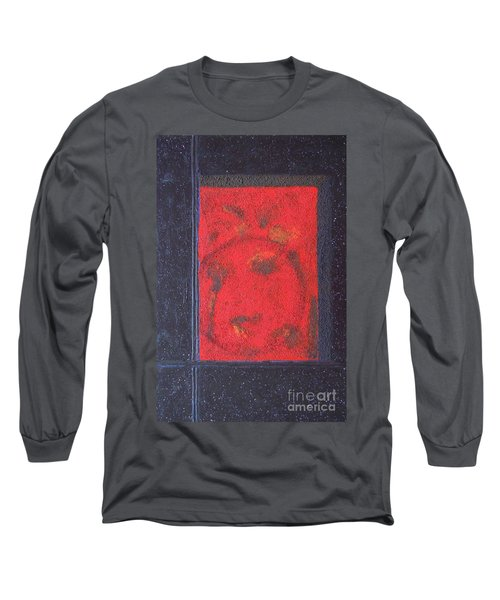 Long Sleeve T-Shirt featuring the painting In The Night Sky by Mini Arora