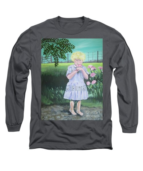 In The Summer Shade Of The Locust Long Sleeve T-Shirt