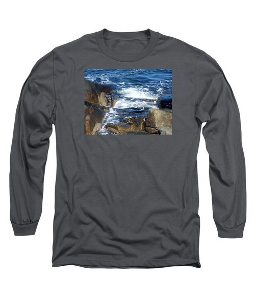 Incoming Tide Long Sleeve T-Shirt by Catherine Gagne